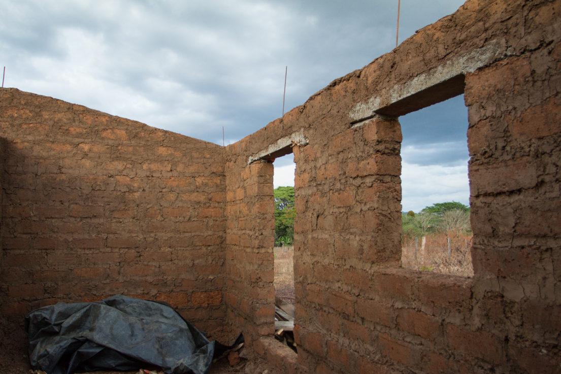 paredes de adobe