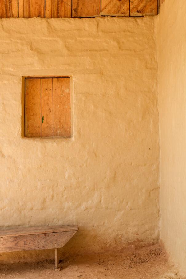 pared de adobe